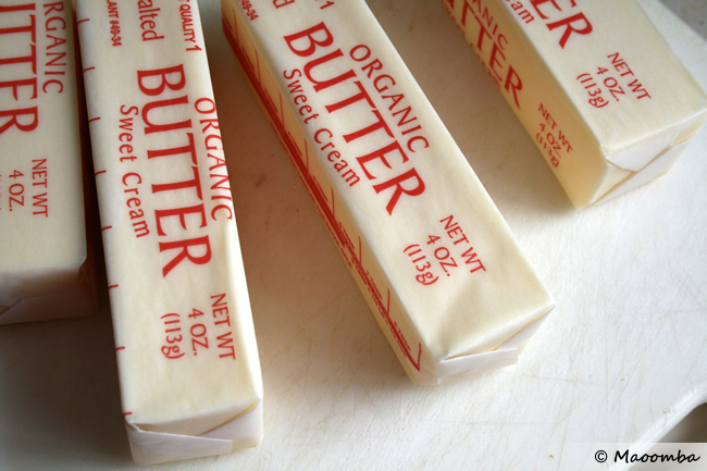 You will need 1 pound of organic butter, ideally from pasture-fed cows and unsalted (though salted apparently works fine